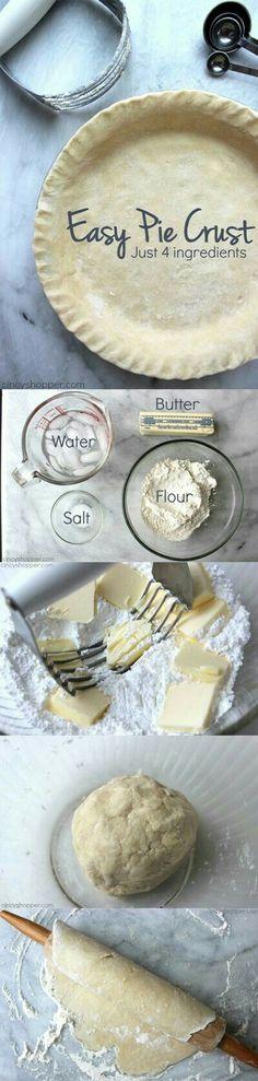 Mata's Pie Crust Recipe  The Best!
