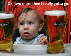 Drunk Baby Memes, Drunk Humor, Funny Memes, Funny Drunk, Beer Memes, Beer Humor, Funny Pictures Can't Stop Laughing, Funny Pictures With Captions, Bar Pics