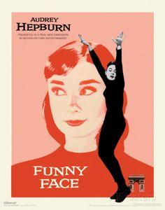 Audrey Hepburn - Funny Face Masterprint at AllPosters.com