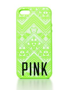 VS PINK Soft iPhone® 4/4S/5 Case in Neon Kiwi