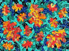 Digital collage - Genevieve Crabe