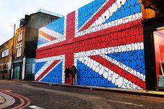 graffti in shoreditch, london