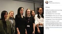 Angelina Jolie gives lecture at London School of Economics Masters Courses, Political Participation, Global Summit, London School Of Economics, Peace And Security, Black Evening Dresses, Gwyneth Paltrow, Buckingham Palace, Miranda Kerr