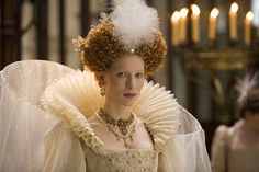 Elizabethan - Cate Blanchett in the film Elizabeth The Golden Age Elizabeth I, Elizabeth Movie, Elizabeth The Golden Age, Cate Blanchett, Drew Barrymore 90s, Palais Du Luxembourg, Movie Costumes, Period Costumes, Tudor Costumes