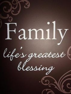 I am so thankful for my loving husband & three great sons!