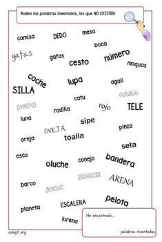 Otro de los recursos que nos ha adaptado Belén López autora del fantástico blog Un mar de palabras esINFERENCIAS. ¿De quéhablo?también de forma interactiva como Math For Kids, Activities For Kids, Brain Gym, Spanish Classroom, Learning Disabilities, Sixth Grade, Dyslexia, Anchor Charts, Teaching