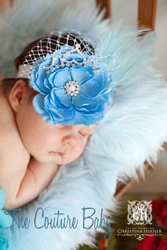 Sleeping Beauty Princess Headband from The Couture Baby