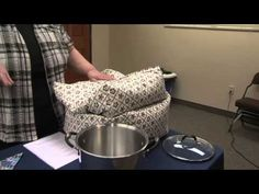 How to make an Insulated Cooking Box - Video