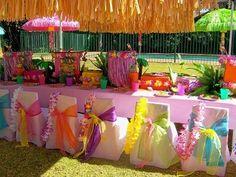 Ideas y cosas para tus fiestas infantiles: FIESTA HAWAIANA