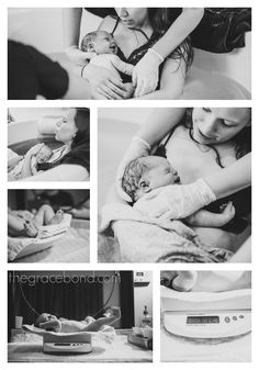 Sadie's birth story: Caul baby water birth with doula support thegracebond.com  Pictures by Katy Cook Photography