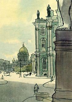 【插画师第二十一期】成熟大气的Anatoly Kokorin