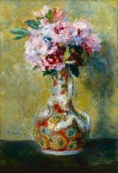 Coloring Renoir  bouquet in a Vase   Renoir,_Pierre_Auguste_-_Bouquet_in_a_Vase_-_Google_Art_Project