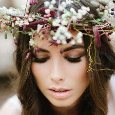 alluremakeup-il:  Romantic Bohemian Makeup