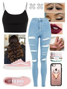 """Untitled #490"" by berwna on Polyvore featuring Casetify, Topshop, Alexander Wang, Vans, Wet Seal and Witchery"
