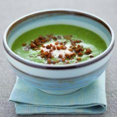 Vellutata di spinaci e lattuga con seitan croccante - Tutte le ricette dalla A alla Z - Cucina Naturale - Ricette, Menu, Diete