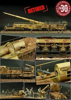 Figarti's - 280mm K5 German Railway Gun