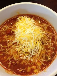 Chicken Fiesta Soup - crockpot recipe