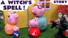 Peppa Pig Play Doh Witch's English Episode | Thomas and Friends Shopkins...