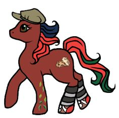 My pony persona Jellybeans by Lina from the MLPArena.