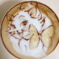 #coffee #latte #art