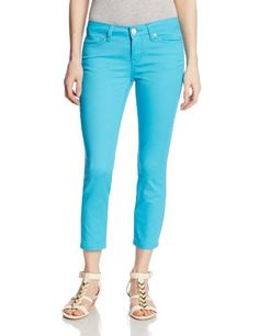 US Polo Assn Juniors Lulu Stretch Slub Twill Capri Pant Surf Blue 5 *** To view further for this item, visit the image link. (Note:Amazon affiliate link)
