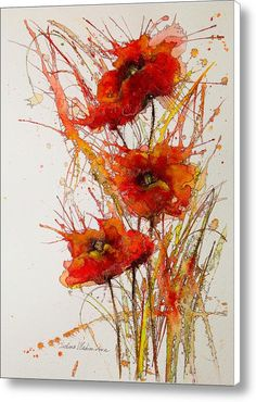 Poppies Canvas Print / Canvas Art By Ivelina Vladimirova