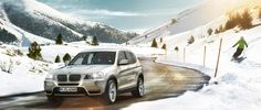 BMW The New X3 Winter Sports Wallpaper HD CarsWallpaperHD.com