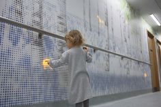 Nature Trail by Jason Bruges Studio provides distraction for kids en route to surgery in Great Ormond Street Hospital, London