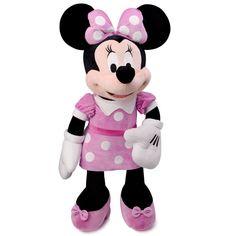 La adorable Minnie tan querida por las niñas, es un clásico que nunca pasa de moda. Una apuesta segura para regalar a las más pequeñas de la casa, entrañable peluche de 45 cm. fabricado con materiales de calidad y licencia original de Disney.