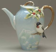 Holiday Beginnings Teapot - Boxed by Franz Collection