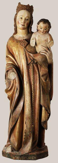 Madonna and Child by Peter Parler, ca. 1375-1380, Muzeum Narodowe w Warszawie (MNW)
