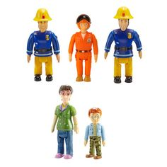 Fireman Sam 5 Pack Action Figures