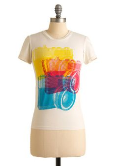 The picture/camera happy person in me needs this t-shirt