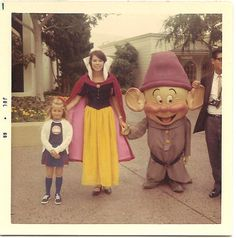 16 Retro Disney Costumed Characters
