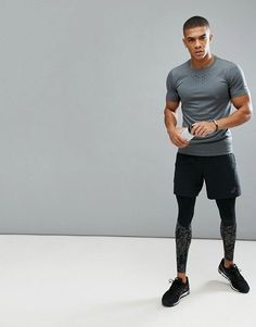 6b720b66cb Athletic Outfits, Sport Outfits, Athletic Wear, Running Wear, Mens Tights,  Gym