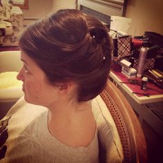 Bridal hair. Wedding hair. Updo. Updo's for long hair. Updo for fine hair. Bridesmaid hair .