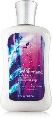 Secret Wonderland Body Lotion - Signature Collection - Bath & Body Works .... LOVE this stuff!