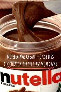Nutella fact Italy