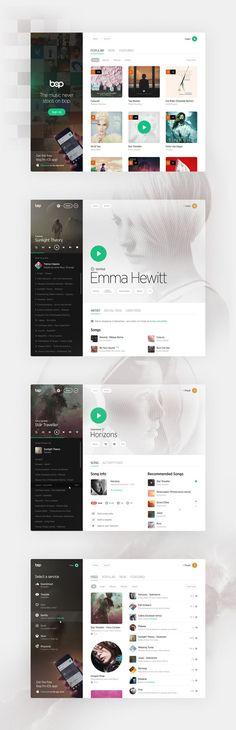 Dribbble - bop_ui-fullpixels by Pivotal web design Gui Interface, User Interface Design, Dashboard Design, App Ui Design, Design Web, Ui Design Inspiration, Design Ideas, Mobile Ui Design, Software