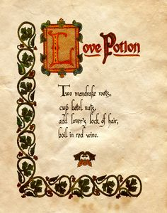 """""""Love Potion"""" - Charmed - Book of Shadows"""
