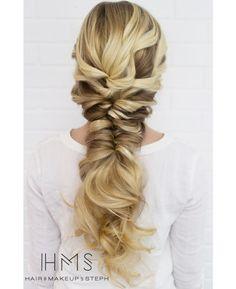 hair down bridal