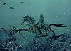 The Fabulous Baron Munchausen_Karel Zeman 1962 Classic Sci Fi, Surrealism, All About Time, Weird, Horror, Cinema, Adventure, Movies, Films