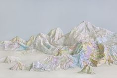 Landscapes of Possibility Made from Maps & Books by Ji Zhou | Yellowtrace - Yellowtrace
