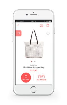 Shopping app #mobile #design #ecommerce #app #shopping #ux #ui