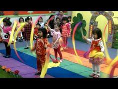 Ribbon Dance at Preschool #thesweetlifeofpeyton - YouTube