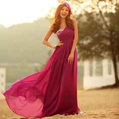 pretty prom dress / evening dress