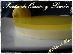 Tarta Light de Queso y Limón (Thermomix)