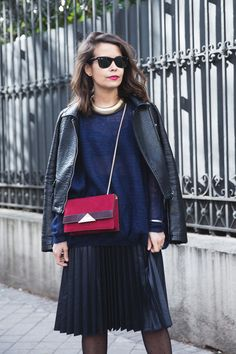 Sara Escudero of Collage Vintage // 15 Blogger Looks To Inspire You This Weekend