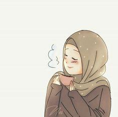 slamic anime ve tesettür Girl Cartoon, Cartoon Art, Illustrations, Illustration Art, Hijab Drawing, Islamic Cartoon, Hijab Cartoon, Islamic Girl, Cute Couple Art