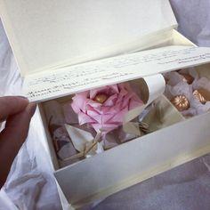 Quando um convite de casamento se torna um presente muito especial e único!!